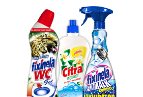 Liquid cleaning agents